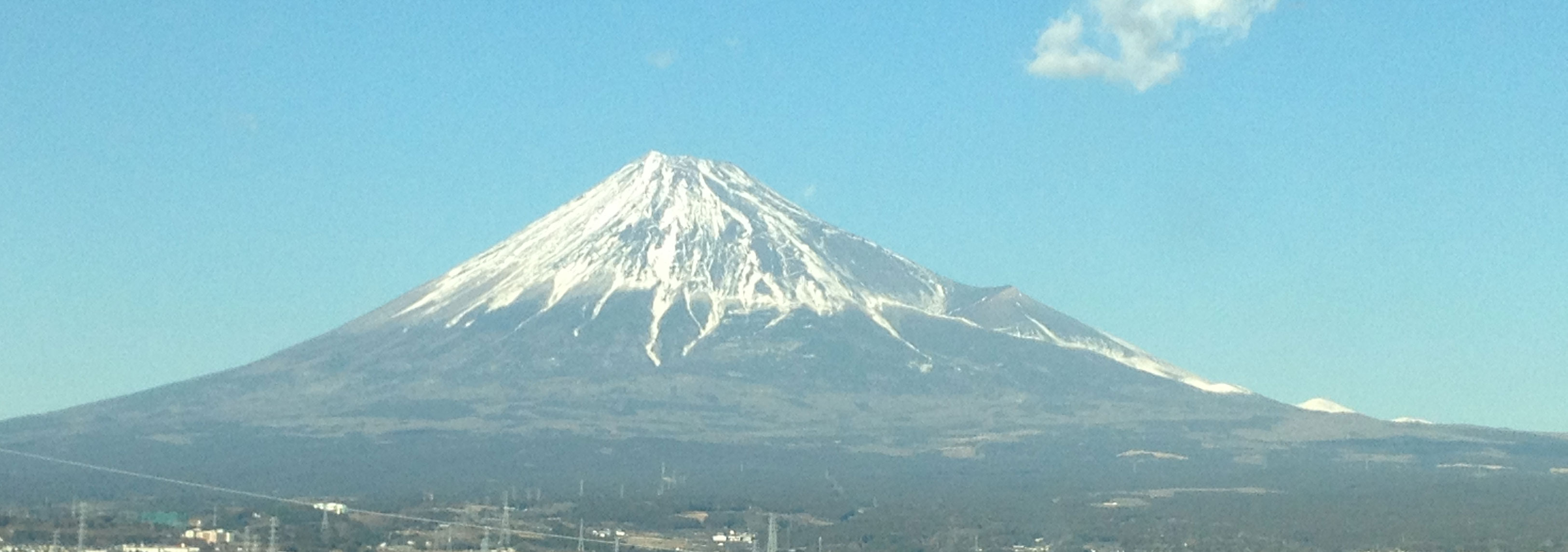 幸せのきっかけづくり 富士山